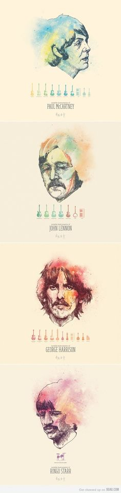 The Beatles es arte, the Beatles es musica. Ringo Starr, John Lennon, Beatles Love, Beatles Art, Beatles Funny, Beatles Poster, Beatles Lyrics, Beatles Photos, Rock And Roll