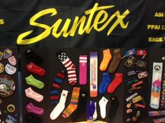 Ready for CAAMP.  Suntex is your sock headquarters.
