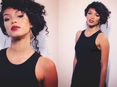 Holiday Glam ♥ Completed Look ♥ Makeup + Hair + Nails & Outfit - YouTube with curly hair - updo or sidedo