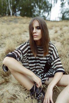 photo: Kasia Ratajczak make-up: Bartek Osowczyk model: Dominika Robak/D'Vision