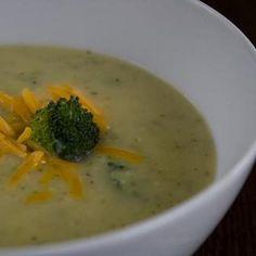 Broccoli Potato Cheese Soup - Weight Watchers Recipe