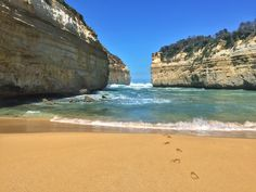 Loch Ard Gorge, one of the offbeat attractions of the Great Ocean Road in Victoria, Australia. See more at www.LostBoyMemoirs.com