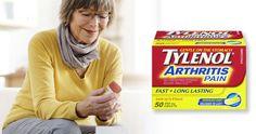 Free Sample of Tylenol Arthritis Pain