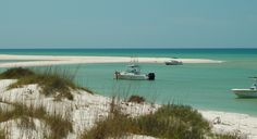 "Boating at the ""tip"" of Cape San Blas"