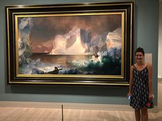 Throwback to the Dallas Art Museum where I looked like a fool cheesin the entire time  Seriously if you take me to all the art museums I will love you forever. Or take me to swim with otters. Either way Ill love you forever        #dallasartmuseum #dallasmuseumofart #fredericchurch #fredericedwinchurch #texas #art #artists #inlove