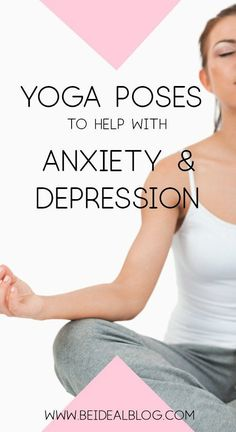Simple Yoga Poses for Anxiety and Depression Learn four simple yoga poses that can improve your mental health.Learn four simple yoga poses that can improve your mental health. Health Anxiety, Anxiety Tips, Anxiety Help, Social Anxiety, Stress And Anxiety, Anxiety Facts, Anxiety Quotes, Easy Yoga Poses, Mind Maps