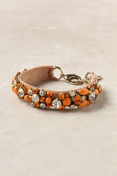 Ever-Orange Bracelet #anthropologie
