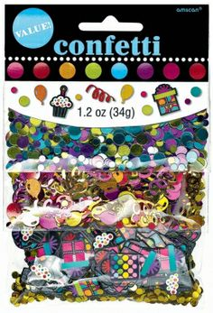This party on confetti mix is the ultimate confetti package! Confetti features 3 different, super fun mixes for only $3.99 from Parties2order!