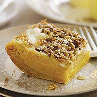 Sweet Potato Cheesecake Squares (via Parents.com)