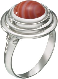 Kameleon 3 Tier Tabletop ring KR20-7 (JewelPops Sold Separately). Sterling Silver. JewelPop sold separately. Size 7.