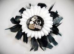 Jane Hair Flower  www.darecrafts.com #hairflower #hairaccessories #hairflowerclip #steampunkaccessories