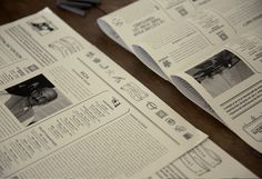 Newspaper designed for a french documentary festival, inspired by vintage gazette.