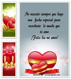 poemas para San Valentin para descargar gratis,palabras originales para San Valentin para mi pareja: http://www.consejosgratis.net/dedicatorias-de-san-valentin-a-novio/