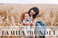205 Modern, Bright, Airy, Lightroom Family and Baby Bundle Presets This Pro package includes 205 Lightroom presets designed to give your Newborn, Family, & Maternity Portrait Photography a soft and light feel. Keep beautiful skin color while softening and add a pop of color and