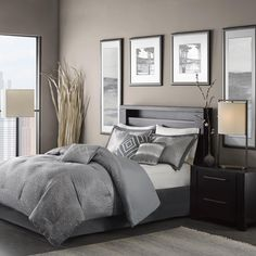 Madison Park Crawford 7-piece Comforter Set - Overstock™ Shopping - Great Deals on Madison Park Comforter Sets