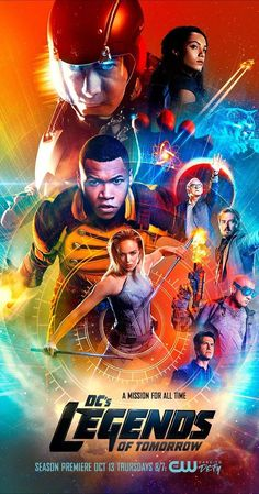 DC's Legends of Tomorrow - Created by Marc Guggenheim, Phil Klemmer, Greg Berlanti.  With Victor Garber, Brandon Routh, Caity Lotz, Franz Drameh. Focuses on time-traveling rogue Rip Hunter, who has to recruit a rag-tag team of heroes and villains to help prevent an apocalypse that could impact not only Earth, but all of time.
