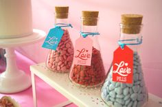 Love potions. Cute! - Styled by Belle