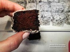 Csupa csokis, pihe-puha gluténmentes kókuszkocka recept | Íz-Lik rovat