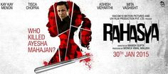 There's an urgency in RAHASYA that's hard to define or comprehend. Manish Gupta, the director, seems to be batting like an out-of-form Yusuf Pathan in a T-20 …