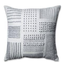 Found it at AllModern - Tribal Sampler Cotton Throw Pillow