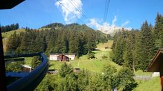 A view from a cable car