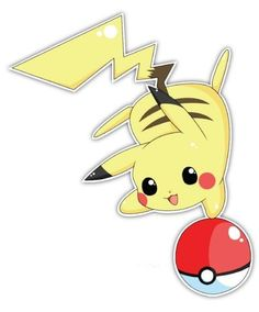 Pokemon Pikachu Decal. Either for my car, window or my entertainment room...also cute