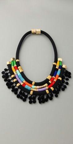 boho necklace  mishtiart.blogspot.com - follow me! :)