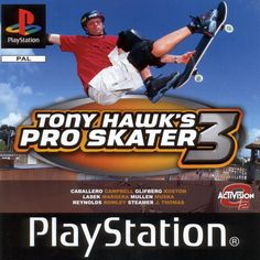 Tony Hawk 3 - Also unbeatable (ryan would think he was, but he was only kidding himself)