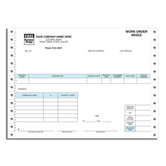 Protection services work order | Work Order Forms | Pinterest ...