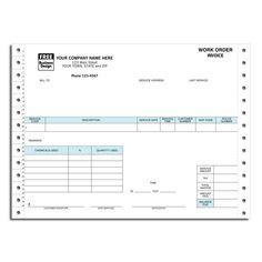 Best Work Order Forms Images On Pinterest Order Form Sample - Pest control invoice template free best online gun store