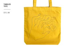 Tangled Tote by Ryan Putnam on Dribbble