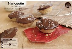 minis cookies chocolat-coco cuits au micro-ondes
