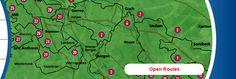 Herrensitz Route Map, Location Map, Maps