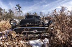 Black Beauty 57 Buick | Junkyard Gem | By: Louis Quattrini | Flickr - Photo Sharing!