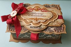 JustRite Stampers Merry Christmas Box