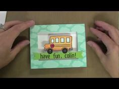 One of my favorite bloggers who makes wonderful cards with stamping.