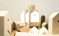 SYAA | 11Houses www.syaa.ro #design #game #wood #kids #children #houses Children, Kids, Objects, Houses, Games, Wood, Design, Young Children, Young Children
