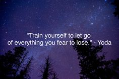 train yourself yoda