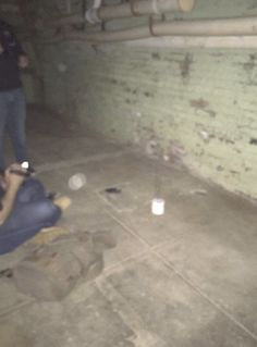 We saw light anomalies in the utility area of the basement of the Lafayette Hotel during our paranormal investigation Lafayette Hotel, Emergency Lighting, Paranormal, Investigations, Basement, Root Cellar, Study, Basements