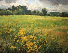 September Field by Christopher Leeper Oil ~ 18 x 24