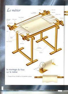Tambour frame
