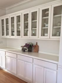 Little Farmstead: Farmhouse Dining Room ~ Buffet Makeover (Before & After)