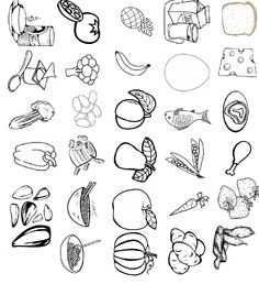 Cut And Color : 1000+ images about Cut and Paste on Pinterest Cut and paste, Food ...