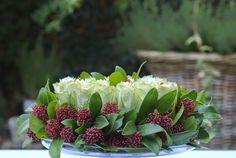 Bloementaart, bloemen, DIY, zelfgemaakte, rozen, moederdag,
