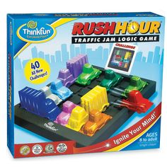Rush+Hour+-+Mindware.com. $20  I love this game board.  Other game boards in this series are sold separately.
