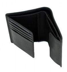 !!!Hugo Boss Herrengeldbörse Majestic S_8 cc flap hoch schwarz Hugo Boss, Pocket Wallet