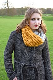 Ravelry: Burghley Cowl pattern by Libby Summers Crochet Scarves, Knit Crochet, Winter Knitting Patterns, Shawls, Ravelry, Cowl, Summer, Fashion, Moda