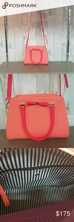 Kate Spade cross body Coral, excellent condition Bags Crossbody Bags