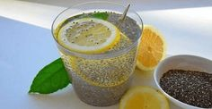 For this miracle fat-burning drink you only need chia seeds and lemon and it will help you prevent flu, fat buildup and cleanse the body.