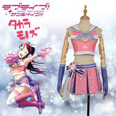 Home Love Live Sunshine Aqours Matsuura Kanan Swimwear Swimsuit Bathing Suit Bikini Tube Tops Skirts Outfit Anime Cosplay Costumes